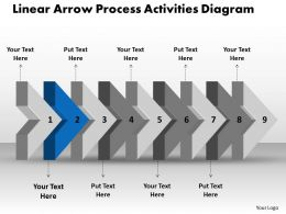 ppt_linear_arrow_process_activities_diagram_business_powerpoint_templates_9_stages_Slide03