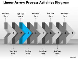 ppt_linear_arrow_process_activities_diagram_business_powerpoint_templates_9_stages_Slide04