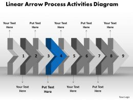ppt_linear_arrow_process_activities_diagram_business_powerpoint_templates_9_stages_Slide06
