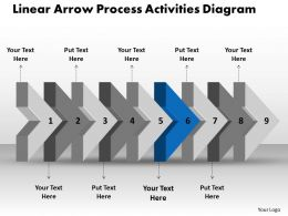 ppt_linear_arrow_process_activities_diagram_business_powerpoint_templates_9_stages_Slide08