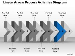 ppt_linear_arrow_process_activities_diagram_business_powerpoint_templates_9_stages_Slide10