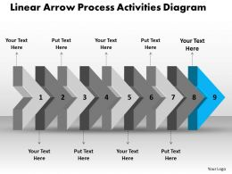 ppt_linear_arrow_process_activities_diagram_business_powerpoint_templates_9_stages_Slide11