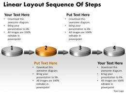 ppt_linear_layout_sequence_of_practice_the_powerpoint_macro_steps_business_templates_4_stages_Slide03