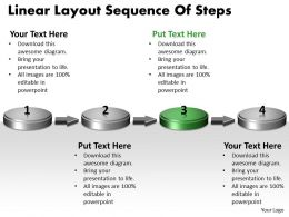 ppt_linear_layout_sequence_of_practice_the_powerpoint_macro_steps_business_templates_4_stages_Slide04