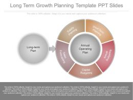 Ppt Long Term Growth Planning Template Ppt Slides