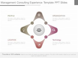 Ppt Management Consulting Experience Template Ppt Slides