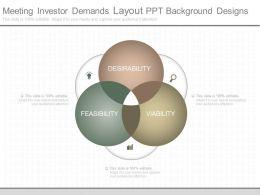 Ppt Meeting Investor Demands Layout Ppt Background Designs