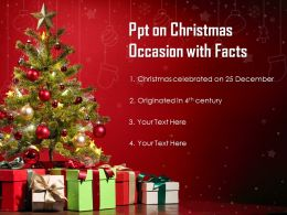 Ppt On Christmas Occasion With Facts