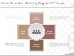 Ppt Online Reputation Marketing Diagram Ppt Sample