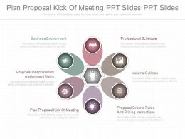 Ppt Plan Proposal Kick Of Meeting Ppt Slides Ppt Slides