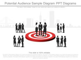 Ppt Potential Audience Sample Diagram Ppt Diagrams