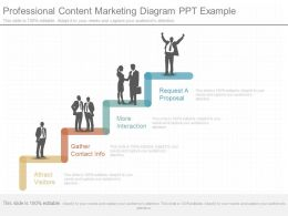Ppt Professional Content Marketing Diagram Ppt Example