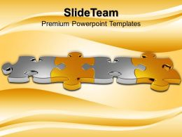 Ppt Puzzle Powerpoint Templates Business Procecc Themes