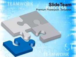 Ppt Puzzle Powerpoint Templates Business Teamwork Slide
