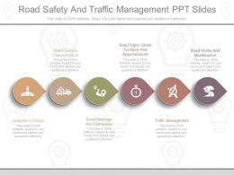 Ppt Road Safety And Traffic Management Ppt Slides