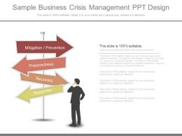 Ppt Sample Business Crisis Management Ppt Design