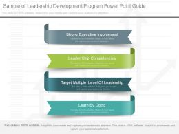 Ppt Sample Of Leadership Development Program Powerpoint Guide