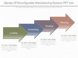 Ppt Sample Of Reconfigurable Manufacturing Systems Ppt Icon