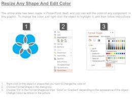 68570346 Style Circular Zig-Zag 5 Piece Powerpoint Presentation Diagram Infographic Slide