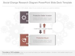 Ppt Social Change Research Diagram Powerpoint Slide Deck Template