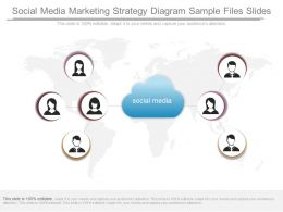 Ppt Social Media Marketing Strategy Diagram Sample Files Slides
