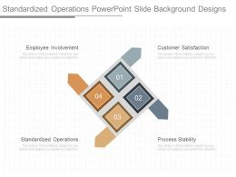 Ppt Standardized Operations Powerpoint Slide Background Designs