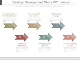 Ppt Strategy Development Steps Ppt Images