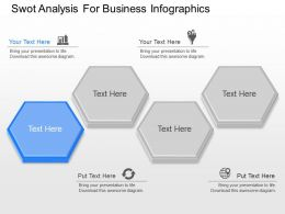 ppt Swot Analysis For Business Infographics Powerpoint Template