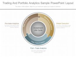 Ppt Trading And Portfolio Analytics Sample Powerpoint Layout