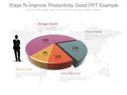 34095747 Style Division Pie 4 Piece Powerpoint Presentation Diagram Infographic Slide