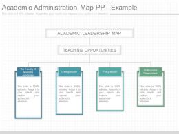 Ppts Academic Administration Map Ppt Example