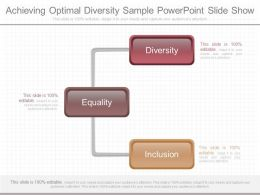 Ppts Achieving Optimal Diversity Sample Powerpoint Slide Show