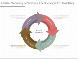 Ppts Affiliate Marketing Techniques For Success Ppt Templates