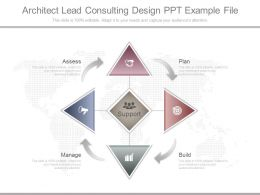 Ppts Architect Lead Consulting Design Ppt Example File