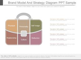 Ppts Brand Model And Strategy Diagram Ppt Sample