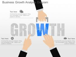 ppts Business Growth Analysis Diagram Powerpoint Template