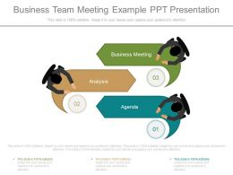 Ppts Business Team Meeting Example Ppt Presentation