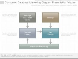 Ppts Consumer Database Marketing Diagram Presentation Visuals