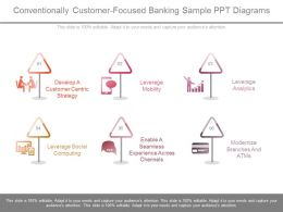Ppts Conventionally Customer Focused Banking Sample Ppt Diagrams