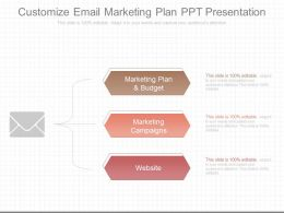 Ppts Customize Email Marketing Plan Ppt Presentation