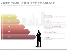 Ppts Decision Making Process Powerpoint Slide Deck