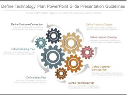 Ppts Define Technology Plan Powerpoint Slide Presentation Guidelines