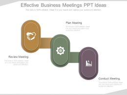 Ppts Effective Business Meetings Ppt Ideas