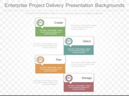 Ppts Enterprise Project Delivery Presentation Backgrounds