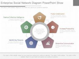 ppts_enterprise_social_network_diagram_powerpoint_show_Slide01