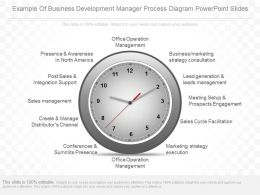 Ppts Example Of Business Development Manager Process Diagram Powerpoint Slides