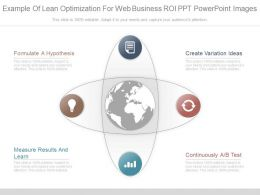 Ppts Example Of Lean Optimization For Web Business Roi Ppt Powerpoint Images