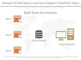 Ppts Example Of Multi Store E Commerce Diagram Powerpoint Topics