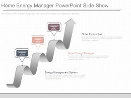 Ppts Home Energy Manager Powerpoint Slide Show