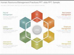 Ppts Human Resource Management Practices Ppt Slide Ppt Sample